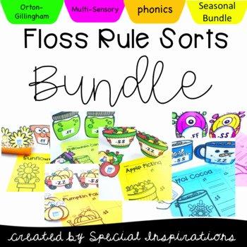 Phonics Floss Rule Worksheet Floss Rule sort Worksheets & Teaching Resources