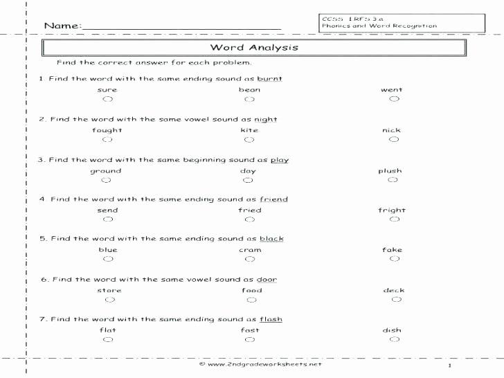 Phonics Worksheets Grade 1 Pdf Free Printable Phonics Worksheets Grade 1 Review 2 for