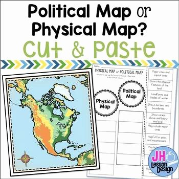 Physical and Political Maps Worksheets Political Maps Worksheets