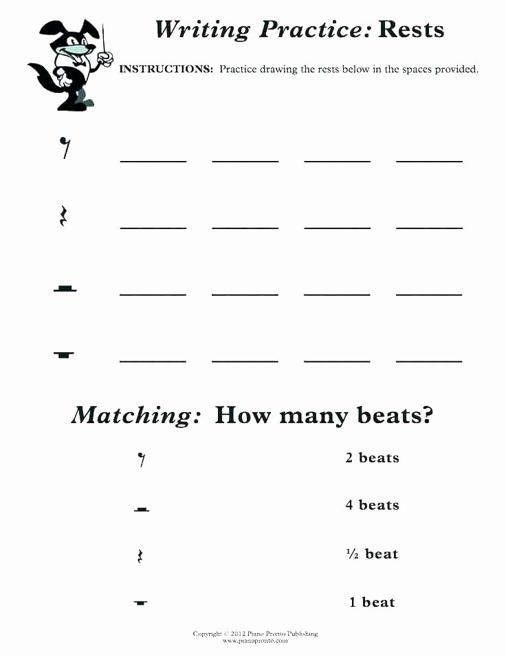 Piano Worksheets for Beginners Beginner Piano Lesson Worksheets