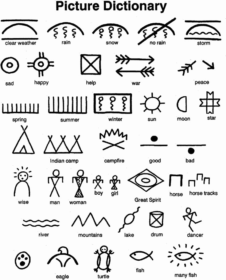 Pictograph for 2nd Grade Native American Math Worksheets Best Native American