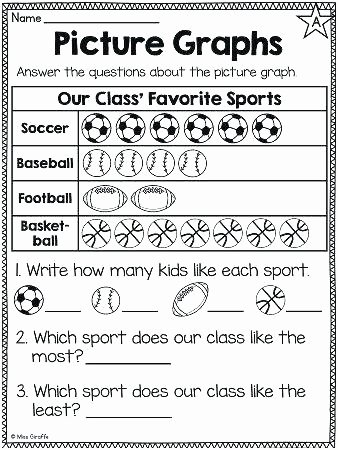 Pictograph for 2nd Grade Printable Worksheets for Grade 1 Filipino Fresh 20 Best