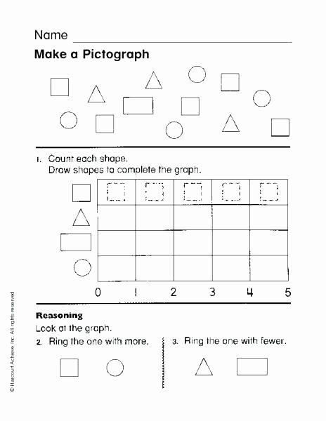 Pictograph Worksheets Pdf Pictograph Worksheets 1st Grade