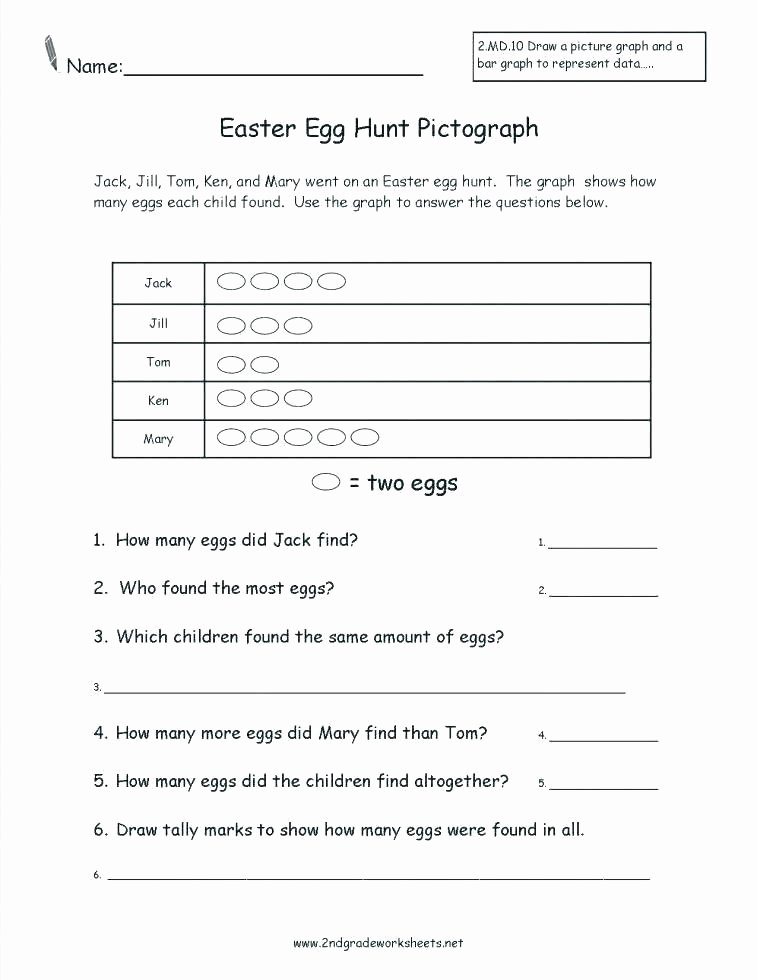 Pictograph Worksheets Pdf Picture Graph Worksheets 3rd Grade
