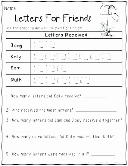 Picture Graph Worksheets 2nd Grade Pictographs Worksheets for 2nd Grade