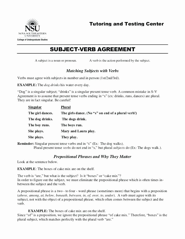 Plurals Worksheet 3rd Grade Singular and Plural Pronouns Worksheets Download Free