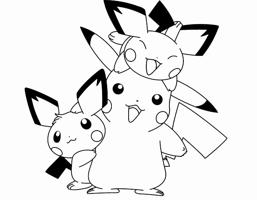 Pokemon Worksheets Free Coloring Pikachu Christmas Coloring Pages Dream for