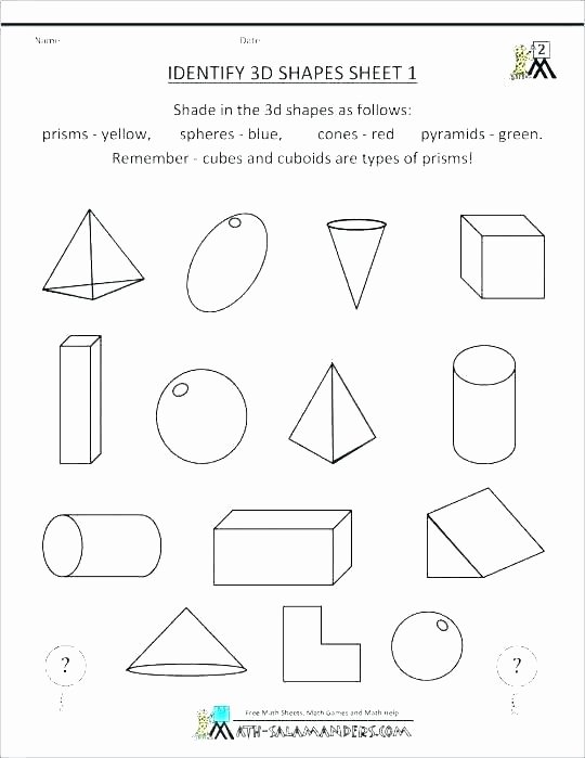 Polygon Worksheets 2nd Grade Identifying Shapes Worksheets 2nd Grade