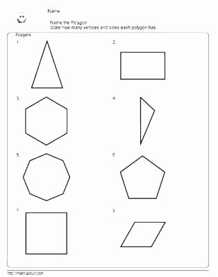 Polygon Worksheets 2nd Grade Perimeter Worksheets 2nd Grade