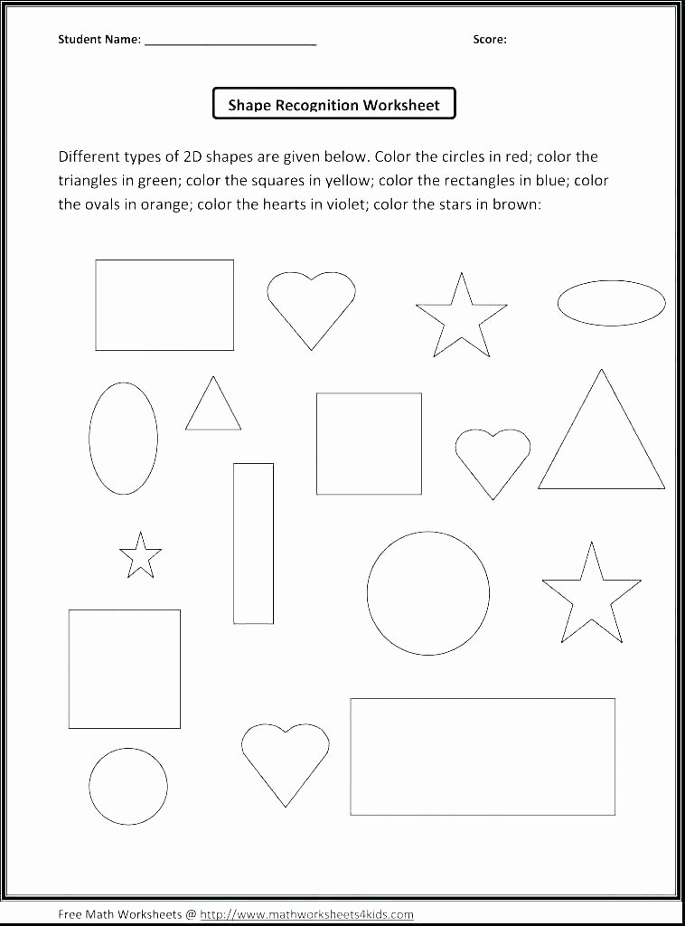 Polygon Worksheets 2nd Grade Shapes Kindergarten Awesome Worksheet Lovely First Grade