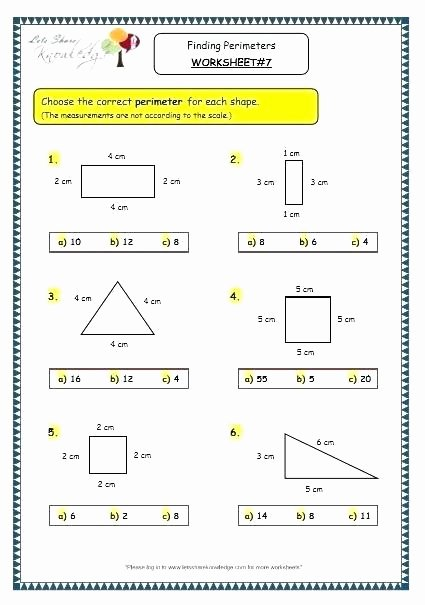 Polygon Worksheets 3rd Grade area Irregular Shapes Worksheet and Perimeter Regular