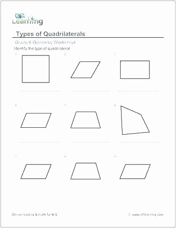 Polygon Worksheets 3rd Grade Plane Shapes Worksheet Classify Plane Figures Homework
