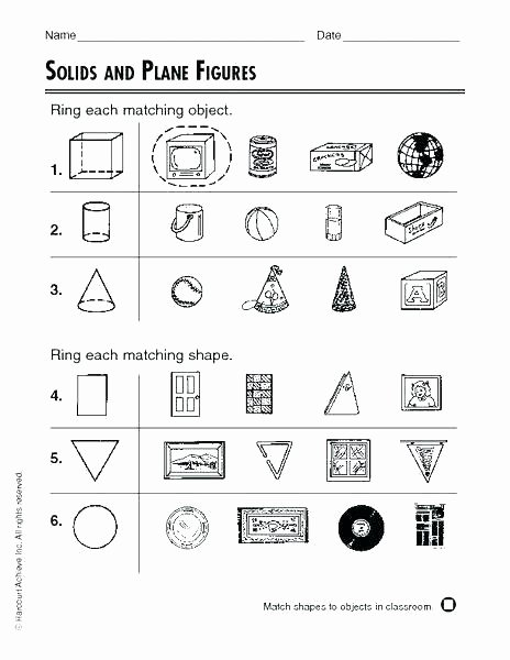 Polygon Worksheets for 2nd Grade Congruent Worksheets – Primalvape