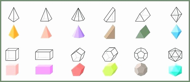 Polygon Worksheets for 2nd Grade Grade Geometry Worksheets 3 D Shapes Grade 3 D Shapes