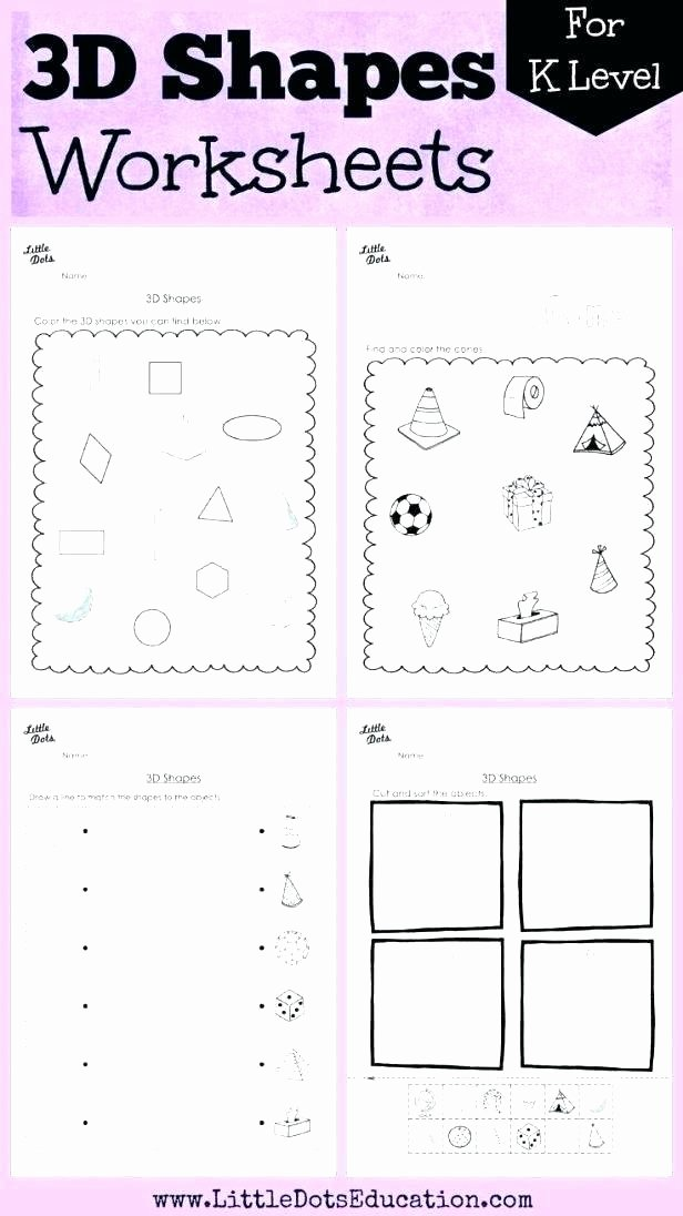 Polygons Worksheets 5th Grade Geometry solid Shapes Identifying Polygon Worksheets 2nd