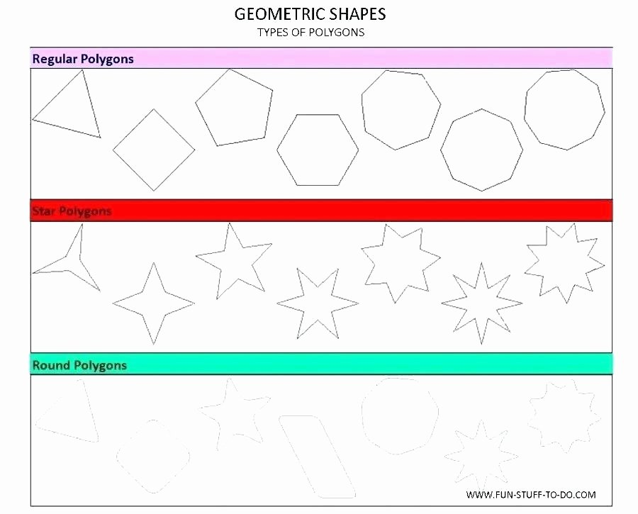 Polygons Worksheets 5th Grade Grade Geometry Worksheets Geometric Shapes Worksheets Free
