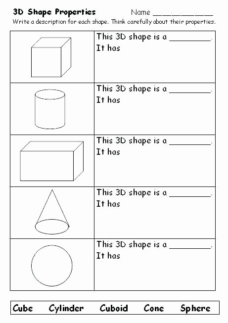 Polygons Worksheets 5th Grade Polygon Worksheets Grade Geometry Free 2