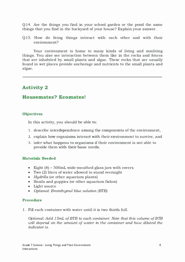 Populations and Communities Worksheet Answers Ecosystem Worksheet Population Munity Answers Lesson High
