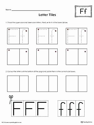 f words for kindergarten math letter f tracing and writing letter tiles kindergarten math positional words worksheets