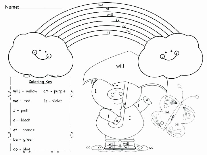 Positional Words Worksheet for Kindergarten Coloring Worksheets Free New Word Family Pages Short O Vowel