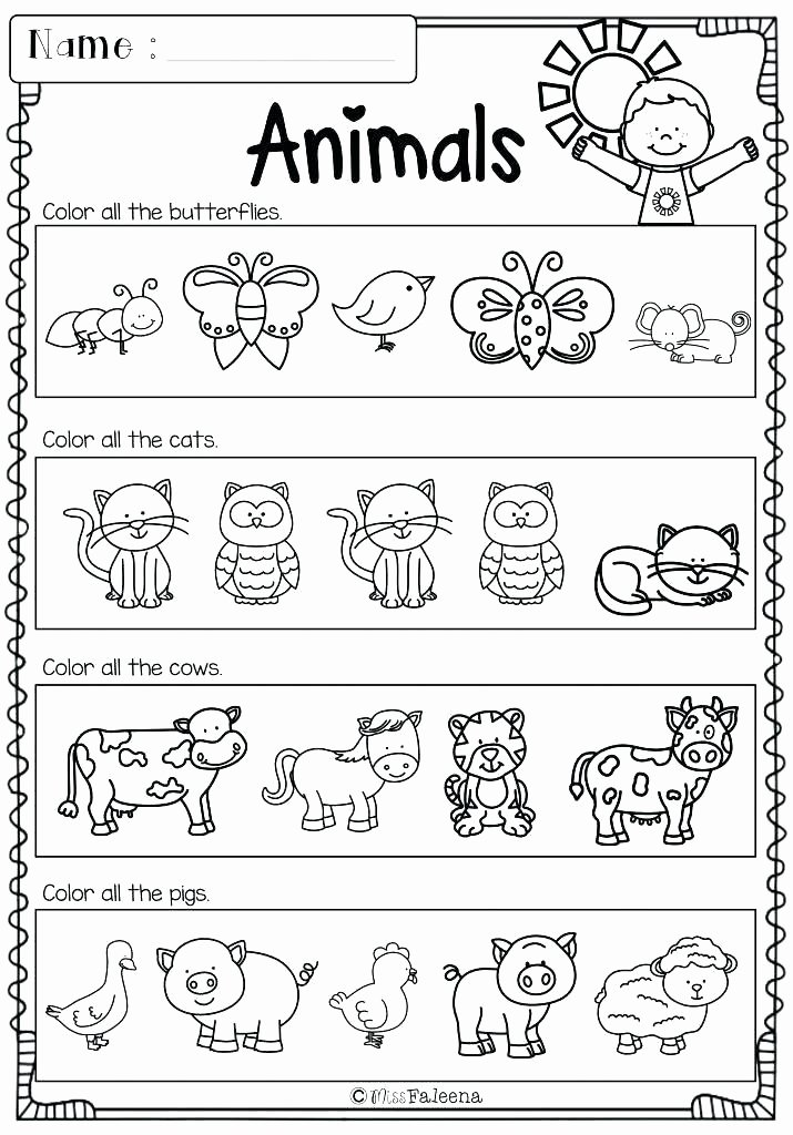 Positional Words Worksheets for Preschool Left and Right Worksheets for Preschool