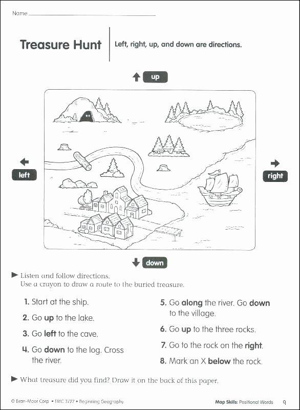 Positional Words Worksheets for Preschool Positional Words Worksheets 2nd Grade Image Below for