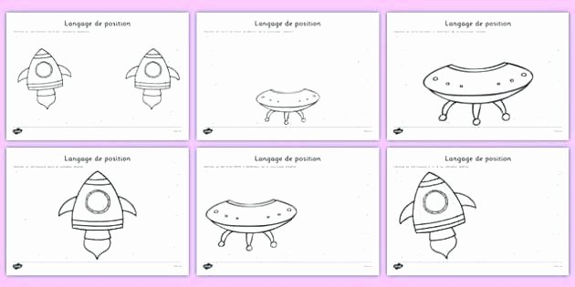 Positional Words Worksheets French Verb Worksheets Preschool for Children Free French