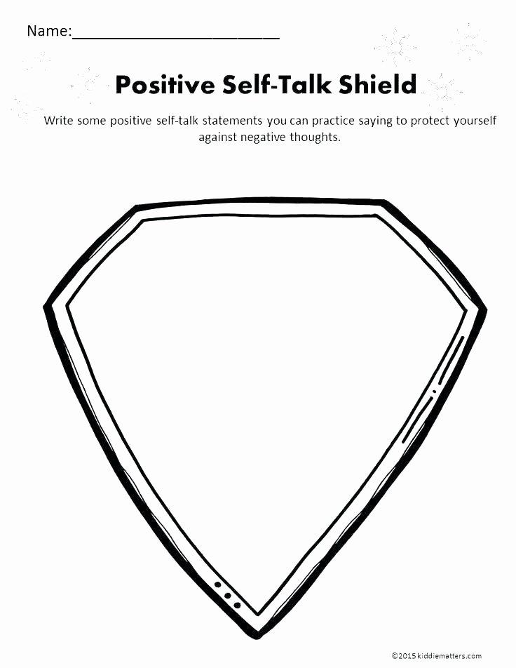 Positive attitude Activities Worksheets Beautiful Self Esteem Worksheets for Kids