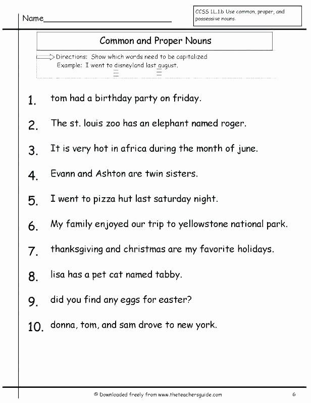 Possessive Pronoun Worksheets 5th Grade Object Pronouns Worksheet Paint Subject and Grade Grammar