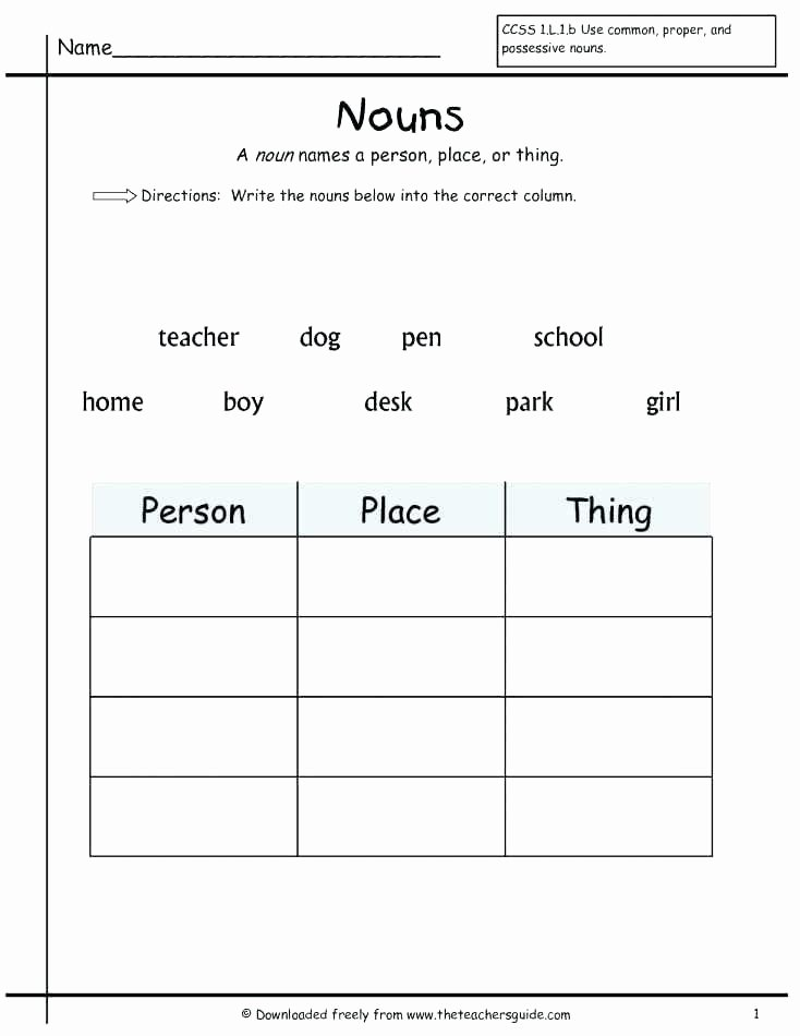 Possessive Pronouns Worksheet 3rd Grade Possessive Nouns Worksheets 5th Grade Printable Noun