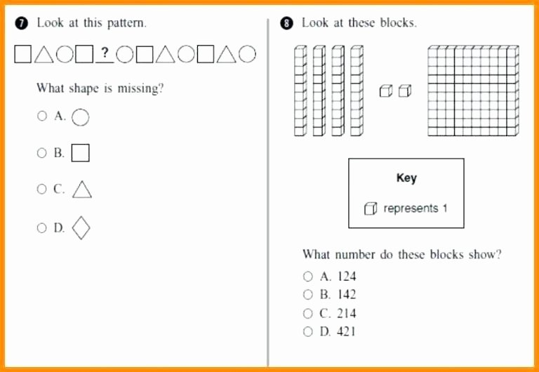 Pre K Counting Worksheets Grade Worksheets Math 5 4 Tests and New for 5th Graders