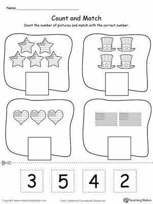 Pre K Counting Worksheets Preschool Printable Worksheets Preschoolers