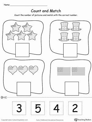 Pre K Counting Worksheets Preschool Printable Worksheets Preschoolers