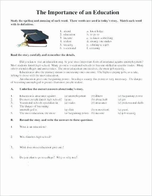 Pre Vocational Skills Worksheets tons Free and Feeling Worksheets Awesome for School