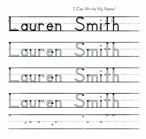 Pre Writing Worksheets Free Preschool Name Writing Worksheets