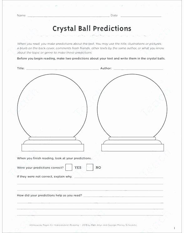 Prediction Worksheets 2nd Grade Making Predictions Worksheets 3rd Grade