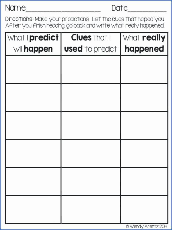 Prediction Worksheets 2nd Grade Making Predictions Worksheets 4th Grade – Moonleads