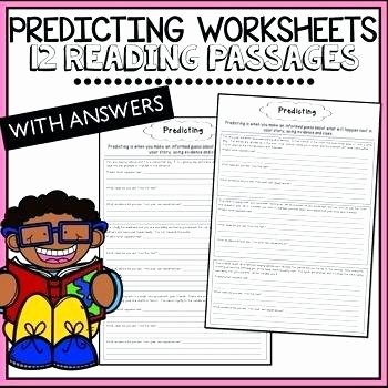 Prediction Worksheets 3rd Grade Prediction Worksheets Teaching Resources Teachers Pay Making