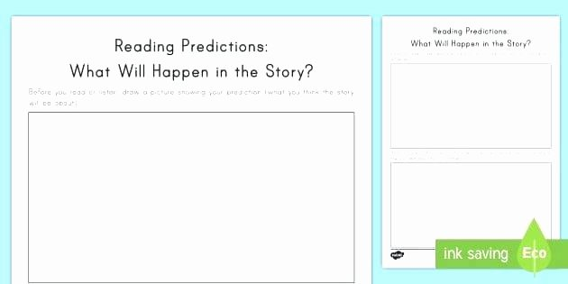 Prediction Worksheets for 2nd Grade Prediction Worksheets Reading Predictions What Will Happen