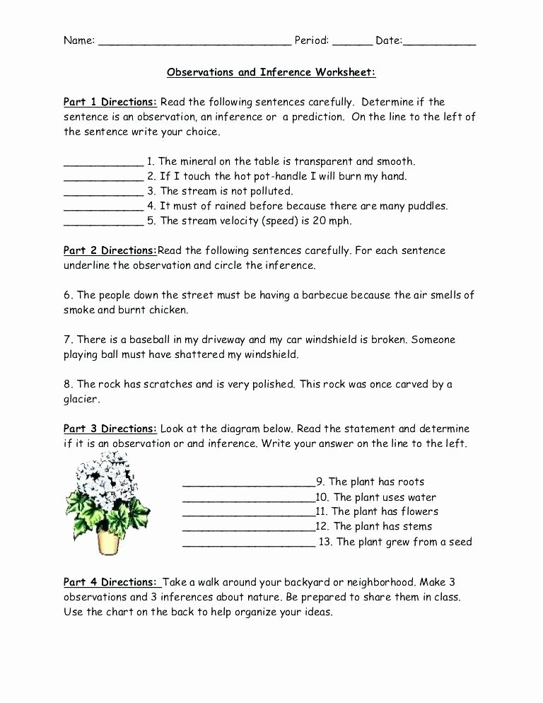 Predictions Worksheets 3rd Grade Inference Worksheets 10th Grade