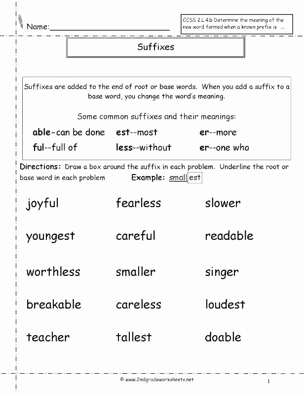 Prefix Worksheets 4th Grade Whats the Root Word Printable Vocabulary Worksheet What is A