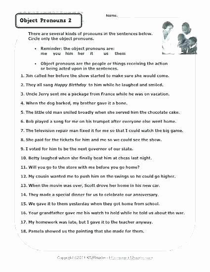 Preposition Worksheets for Middle School Lovely I and Me Grammar Worksheets I and Me Grammar Worksheets