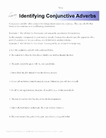 Prepositional Phrase Worksheet 4th Grade Adverb Worksheets 4th Grade