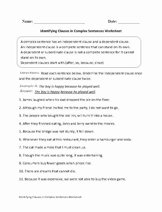 Prepositional Phrases Worksheet 6th Grade Prepositional Phrase Worksheets High School Practice