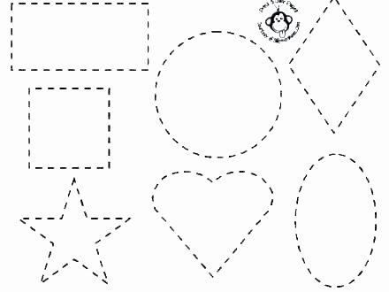 Preschool Diamond Shape Worksheets Basic Shapes Worksheets