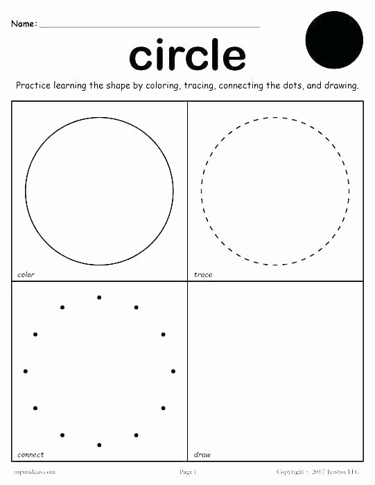 Preschool Diamond Shape Worksheets Geometrical Shapes for Kindergarten Coloring Worksheet