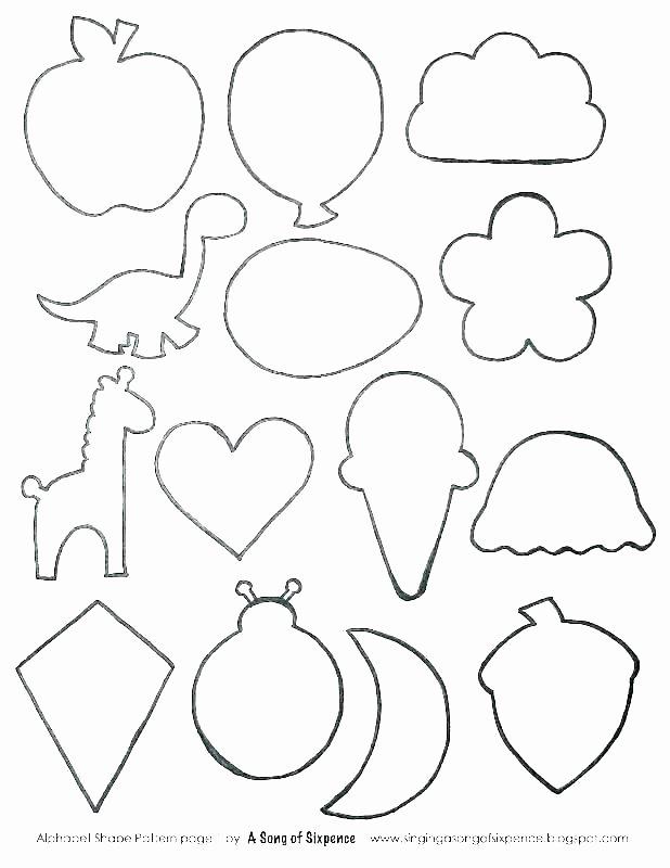 Preschool Diamond Shape Worksheets Shape Coloring Sheets – Queenandfatchef