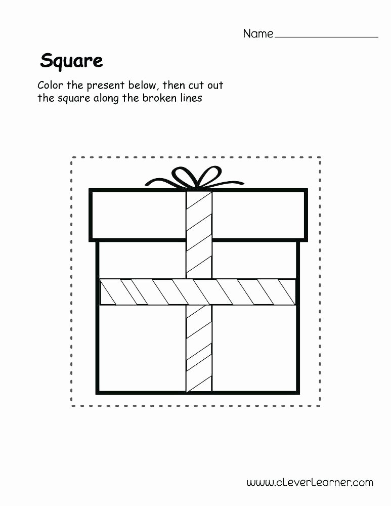 Preschool Diamond Shape Worksheets Square Shape Activity 5 6 Printable Free Sheets for School