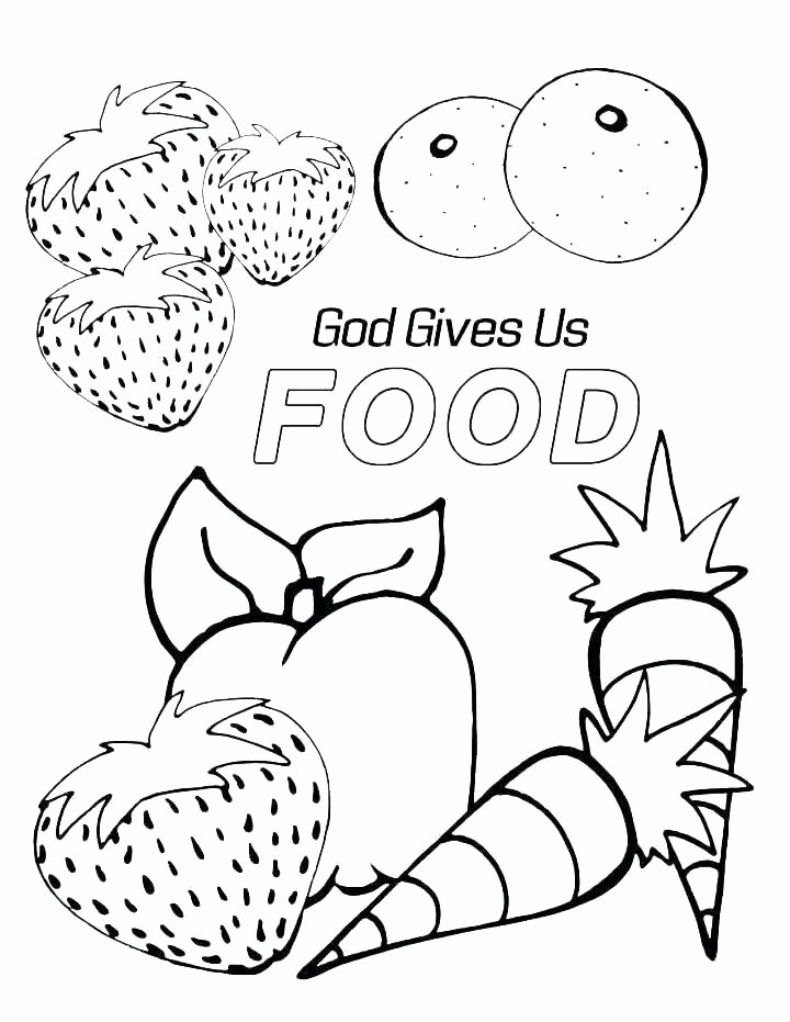 Preschool Fruits and Vegetables Worksheets Coloring Fruits Worksheets Food Page Fruit Ve Ables and