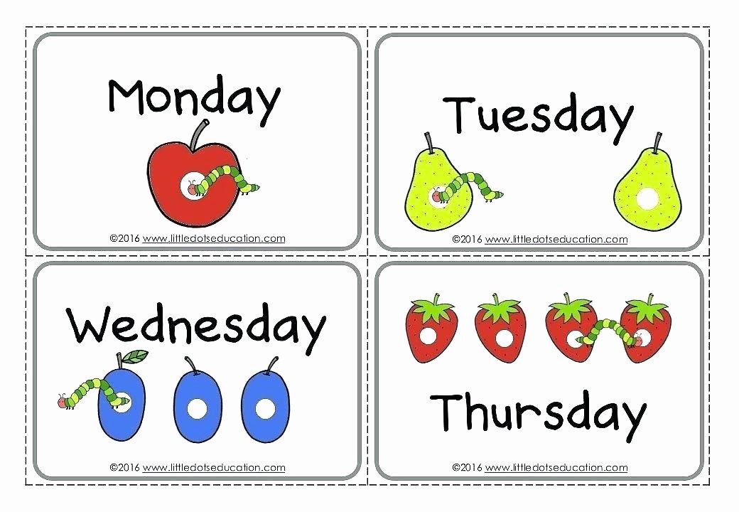 Preschool Fruits and Vegetables Worksheets Kinder Spelling Worksheets Days the Week Preschool for